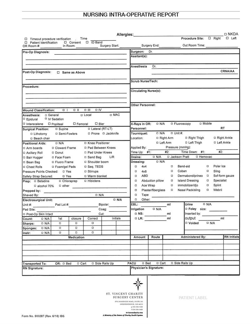 operative report There are many different types of medical reports that medical transcriptionists can type an employer, medical transcription company, or doctor will provide you with a format they like to use.